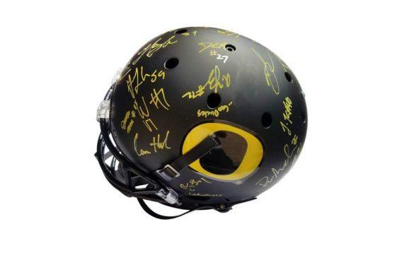 Oregon Ducks proof of signing certificate