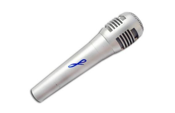 Aj Mclean authentic signed microphone