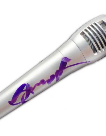 Glenn Hughes authentic signed microphone