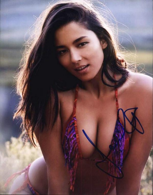 Jessica Gomes authentic signed 8x10 picture