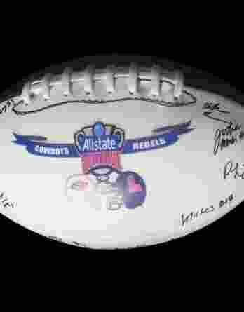 Oklahoma State Cowboys authentic signed football