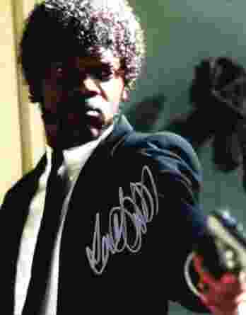 Samuel L Jackson authentic signed 10x15 picture