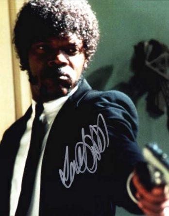 Samuel L Jackson authentic signed 10x15 picture