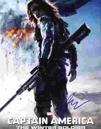 Sebastian Stan authentic signed 10x15 picture