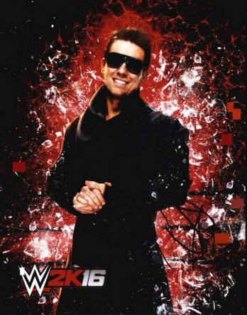 The Miz authentic signed 8x10 picture