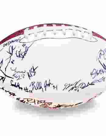 2008 Georgia Bulldogs autographed team football