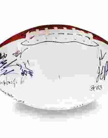 2012 Auburn Tigers autographed team football