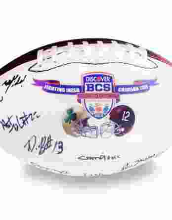 2012 Alabama Crimson Tide autographed team football