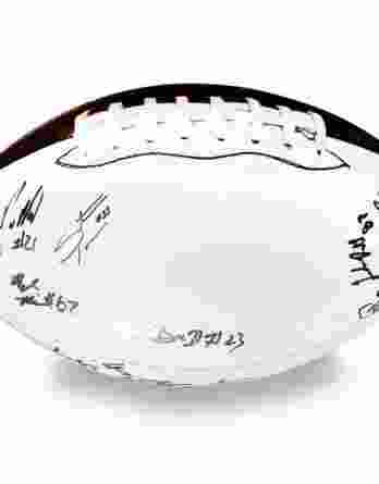 2012 Stanford autographed team football