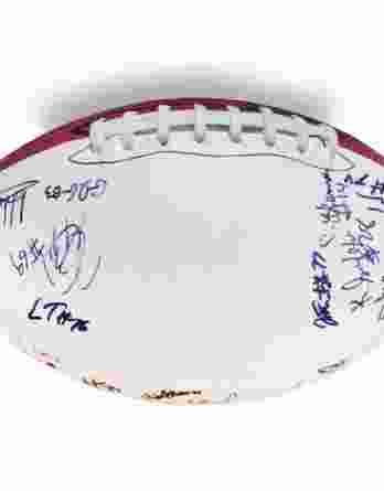 2012 Unc Tar Heels autographed team football