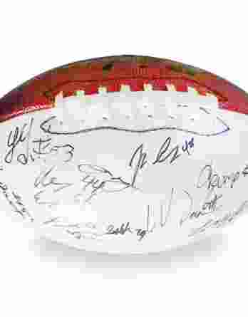 2017 Georgia Bulldogs autographed team football