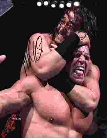 Akio Yang authentic signed WWE wrestling 8x10 photo W/Cert Autographed 36 signed 8x10 photo