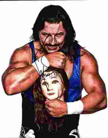 Al Snow authentic signed WWE wrestling 8x10 photo W/Cert Autographed 03 signed 8x10 photo