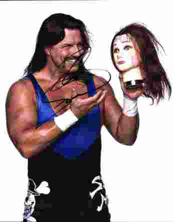 Al Snow authentic signed WWE wrestling 8x10 photo W/Cert Autographed 04 signed 8x10 photo