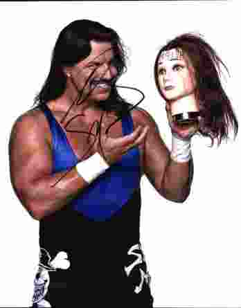 Al Snow authentic signed WWE wrestling 8x10 photo W/Cert Autographed 11 signed 8x10 photo