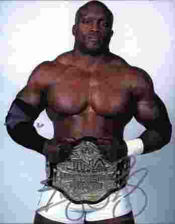 Bobby Lashley authentic signed WWE wrestling 8x10 photo W/Cert Autographed 01 signed 8x10 photo