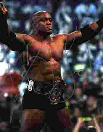 Bobby Lashley authentic signed WWE wrestling 8x10 photo W/Cert Autographed 02 signed 8x10 photo