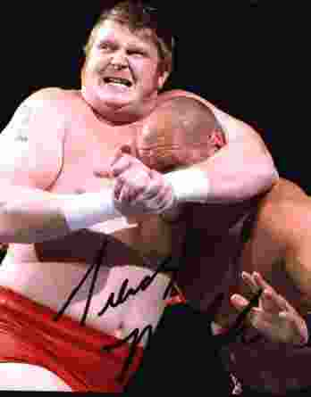 Trevor Murdoch authentic signed WWE wrestling 8x10 photo W/Cert Autographed 09 signed 8x10 photo