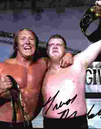 Trevor Murdoch authentic signed WWE wrestling 8x10 photo W/Cert Autographed 14 signed 8x10 photo