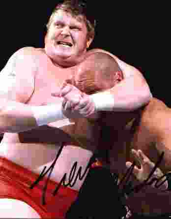 Trevor Murdoch authentic signed WWE wrestling 8x10 photo W/Cert Autographed 18 signed 8x10 photo