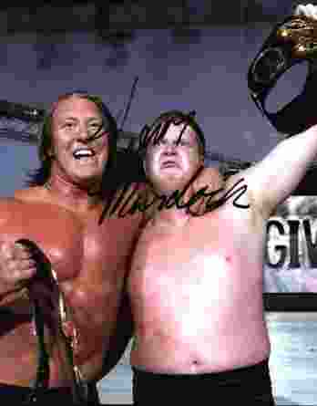 Trevor Murdoch authentic signed WWE wrestling 8x10 photo W/Cert Autographed 20 signed 8x10 photo