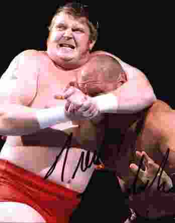 Trevor Murdoch authentic signed WWE wrestling 8x10 photo W/Cert Autographed 34 signed 8x10 photo