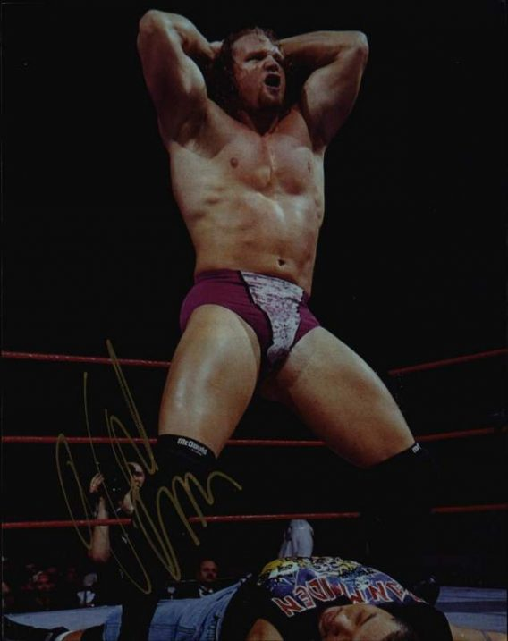 Val Venis authentic signed WWE wrestling 8x10 photo W/Cert Autographed 04 signed 8x10 photo