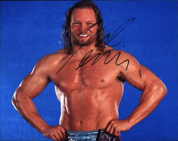 Val Venis authentic signed WWE wrestling 8x10 photo W/Cert Autographed 08 signed 8x10 photo
