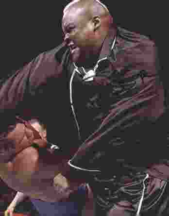 Viscera Big Daddy Voodoo signed WWE wrestling 8x10 photo W/Cert Autographed 03 signed 8x10 photo
