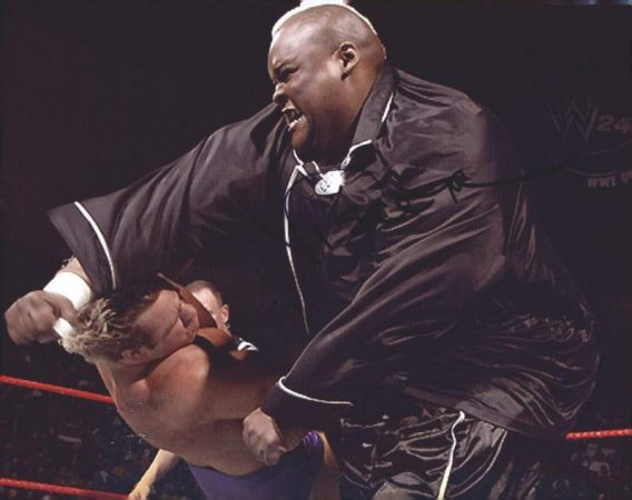 Viscera Big Daddy Voodoo signed WWE wrestling 8x10 photo W/Cert Autographed 04 signed 8x10 photo