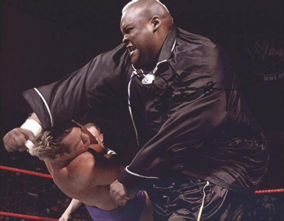 Viscera Big Daddy Voodoo signed WWE wrestling 8x10 photo W/Cert Autographed 05 signed 8x10 photo