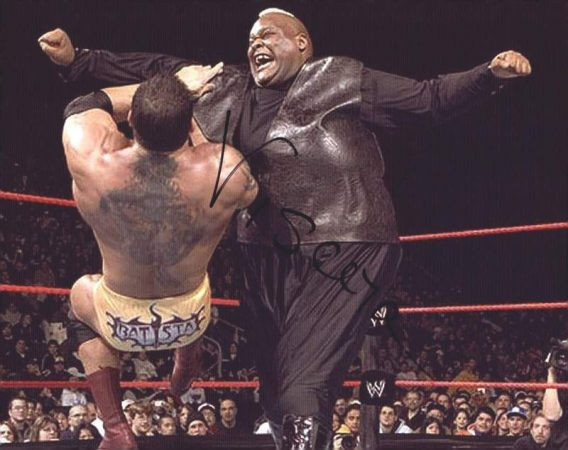 Viscera Big Daddy Voodoo signed WWE wrestling 8x10 photo W/Cert Autographed 06 signed 8x10 photo
