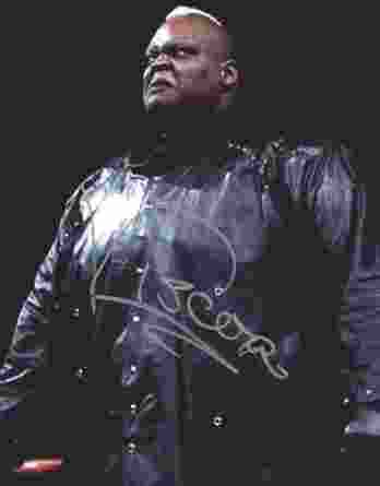 Viscera Big Daddy Voodoo signed WWE wrestling 8x10 photo W/Cert Autographed 10 signed 8x10 photo