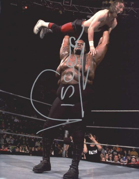 Viscera Big Daddy Voodoo signed WWE wrestling 8x10 photo W/Cert Autographed 12 signed 8x10 photo