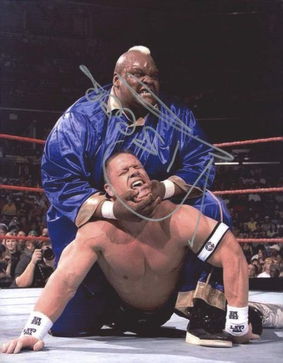 Viscera Big Daddy Voodoo signed WWE wrestling 8x10 photo W/Cert Autographed 16 signed 8x10 photo