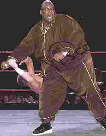 Viscera Big Daddy Voodoo signed WWE wrestling 8x10 photo W/Cert Autographed 50 signed 8x10 photo