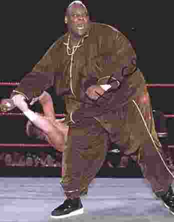 Viscera Big Daddy Voodoo signed WWE wrestling 8x10 photo W/Cert Autographed 51 signed 8x10 photo