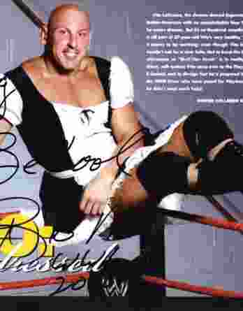 Big Vito Lograsso authentic signed WWE wrestling 8x10 photo /Cert Autographed 02 signed 8x10 photo