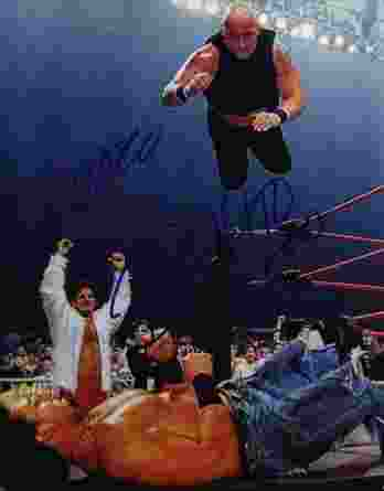 Big Vito Lograsso authentic signed WWE wrestling 8x10 photo /Cert Autographed 03 signed 8x10 photo