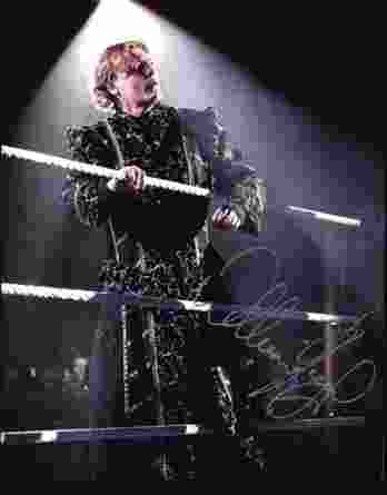 William Regal authentic signed WWE wrestling 8x10 photo W/Cert Autographed 07 signed 8x10 photo