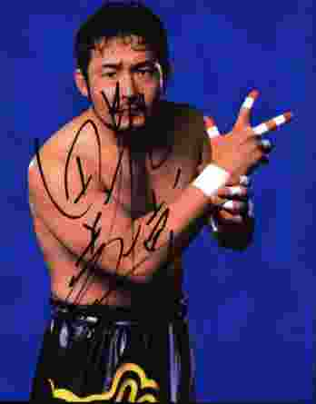 Yoshihiro Tajiri authentic signed WWE wrestling 8x10 photo W/Cert Autographed 16 signed 8x10 photo