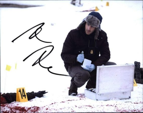 Aaron Abrams signed 8x10 poster