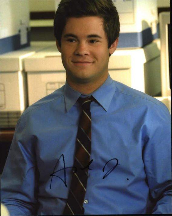 Adam Devine signed 8x10 poster