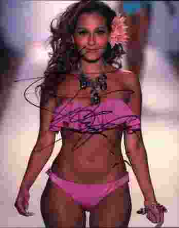Adrienne Bailon signed 8x10 poster