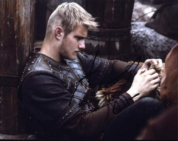 Alexander Ludwig signed 8x10 poster