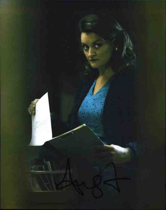 Alison Wright signed 8x10 poster