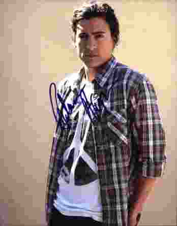 Andrew Keegan signed 8x10 poster