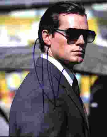 Armie Hammer signed 8x10 poster