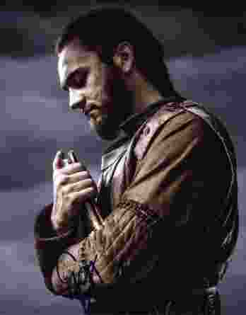 George Blagden signed 8x10 poster