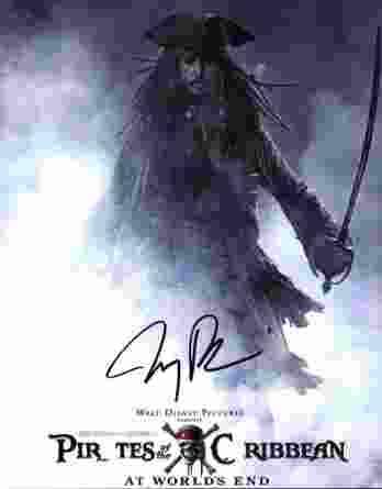 Jerry Bruckheimer signed 8x10 poster